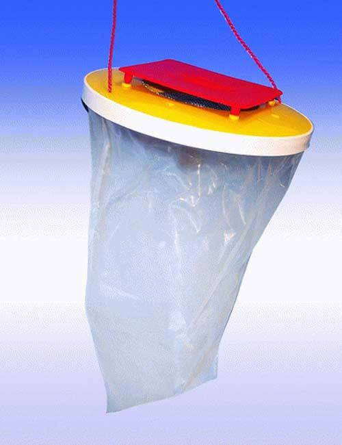 Trappola per mosche red top 2 shop disinfestazione for Trappola piccioni